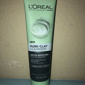 L'Oréal pure clay mask cleanser